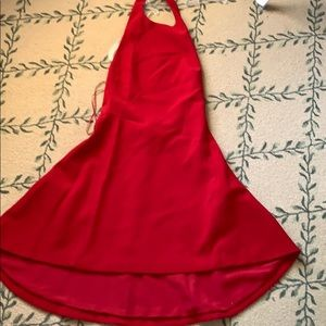 Cmeo collective red dress